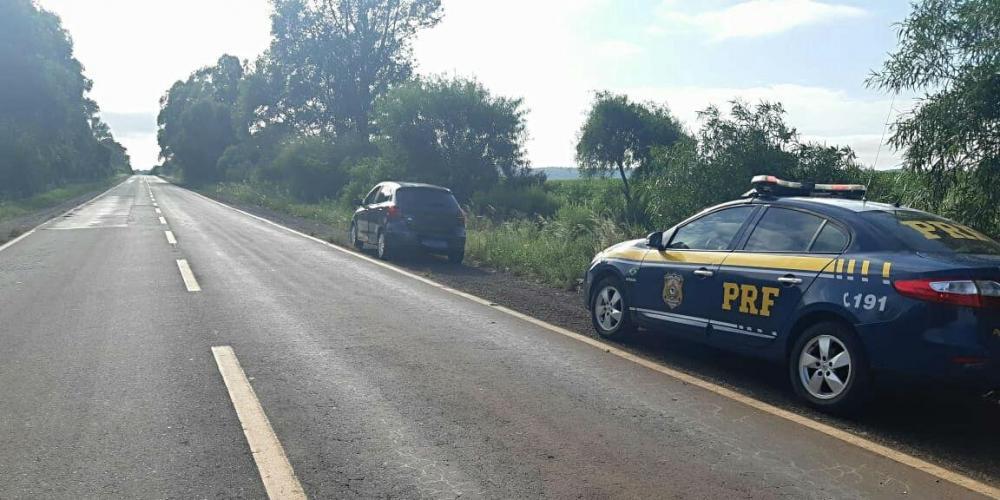 Condutora que atingiu o adolescente lamentou que não teve tempo de reagir a presença do jovem que tentava atravessar a rodovia | Foto: PRF / Divulgação / CP
