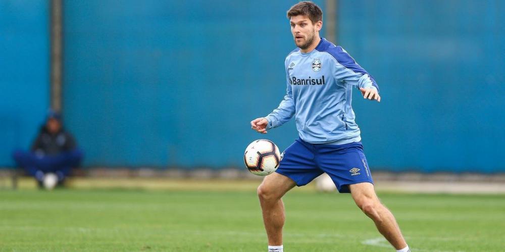 Kannemann é a principal dúvida do Grêmio para o Gre-Nal de sábado | Foto: Lucas Uebel / Grêmio / CP Memória