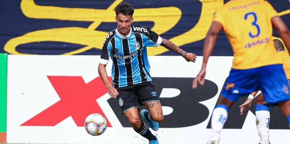 Ferreira foi afastado do grupo principal do Grêmio até acertar a renovação de contrato   Foto: Lucas Uebel / Grêmio / Divulgação / CP
