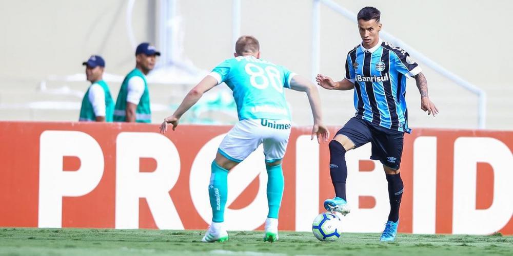 Jogador pediu rescisão na Justiça   Foto: Lucas Uebel / Grêmio / Divulgação / CP