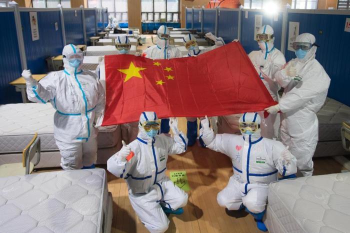 Os números revelam que a epidemia parece estar sob controle na cidade de Wuhan, capital da província de Hubei Xiao Yijiu / Divulgação / XinHua