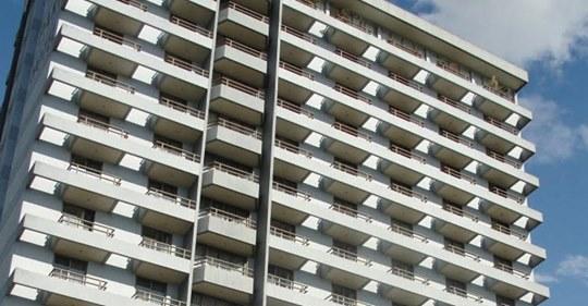 Prédio onde ficava o Wilson Park Hotel Grupo Ramarim / Divulgação