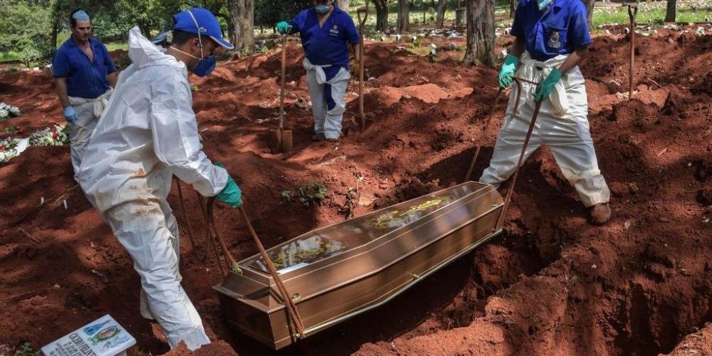 Brasil tem mais 852 casos e 54 mortes, totalizando 486 vítimas fatais do Covid-19