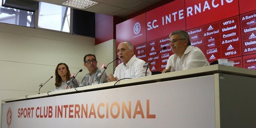 Dirigente ressaltou que clube toma todos os cuidados com a saúde | Foto: Ricardo Duarte / Inter / Divulgação CP