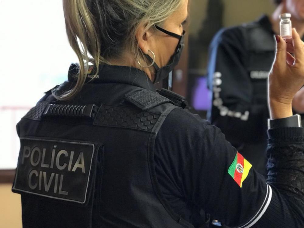 Vacinas falsificadas são encontradas pela polícia em Água Santa