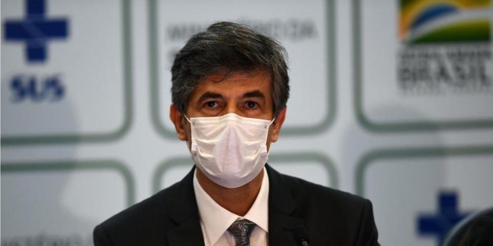 Teich assumiu Ministério da Saúde no dia 17 de abril | Foto: Evaristo Sa / AFP / CP