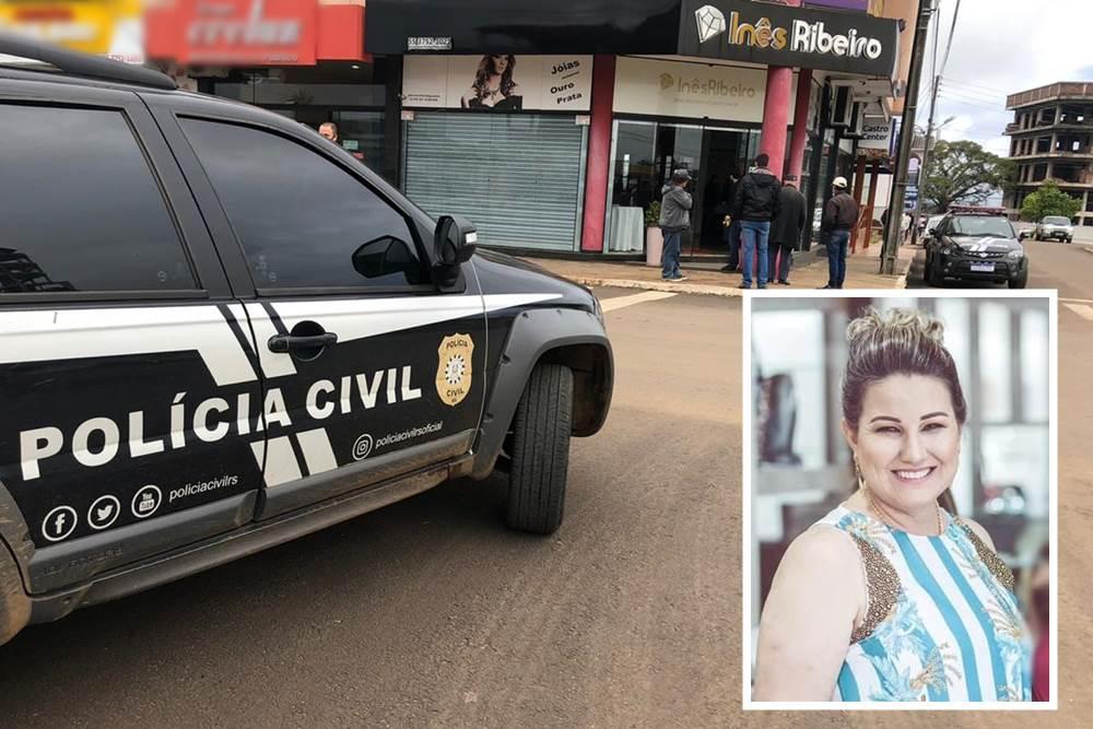 Autor do disparou que matou empresária em Ametista do Sul diz que tiro foi acidental