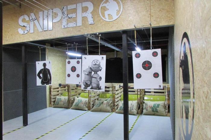 O estande da Sniper vai ocupar uma área de 152 metros quadrados Divulgação / Sniper
