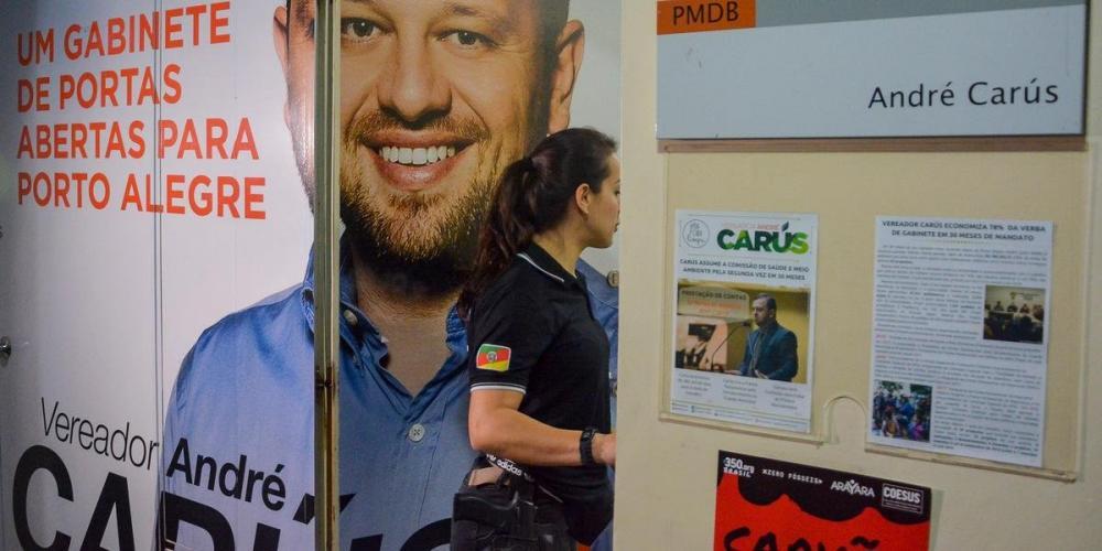 Carús foi preso na última terça | Foto: Guilherme Almeida