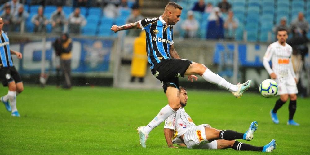 Luan teve bom desempenho na partida contra o Corinthians | Foto: Fabiano do Amaral