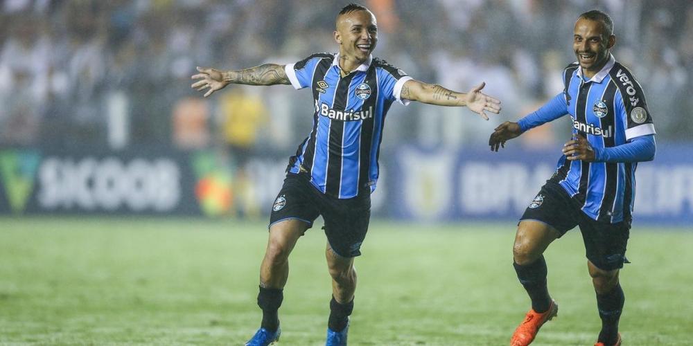 Everton fez 17 gols na temporada e ajudou Grêmio a chegar à marca dos 100 gols | Foto: Lucas Uebel / Grêmio / Divulgação / CP