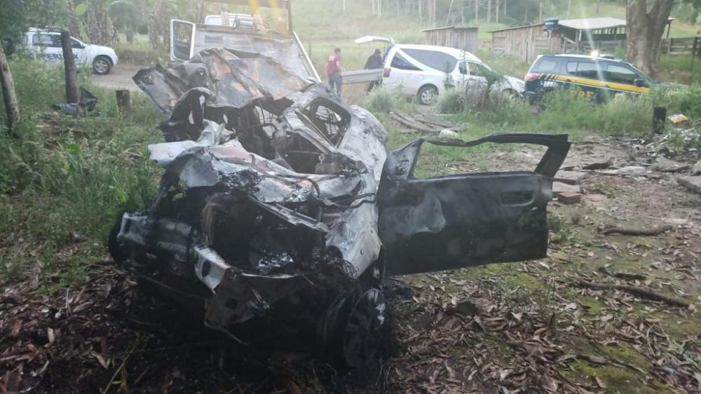 PRF atende acidente com óbito em São José do Herval