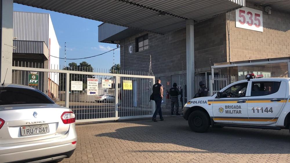 Grupo é suspeito de praticar fraudes tributárias. — Foto: Ministério Público do RS/Divulgação