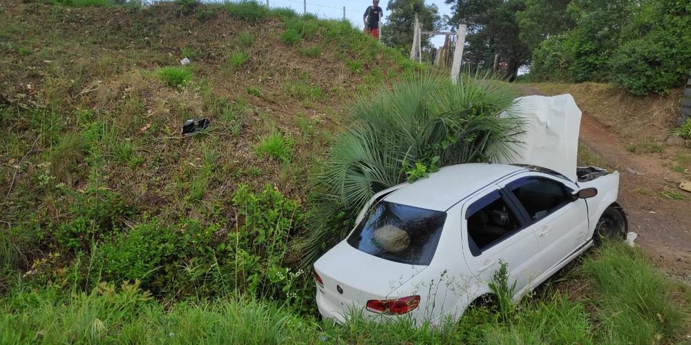 Três mulheres foram atropeladas em General Câmara — Foto: Corpo de Bombeiros Militar do RS