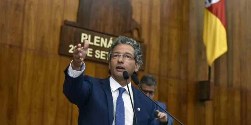 Frederico Antunes é um dos articuladores do governo do Estado | Foto: Guerreiro / ALRS / CP Memória