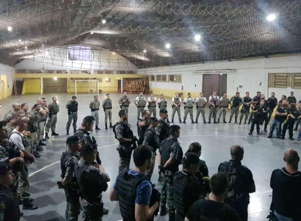 21 presos, drogas e dois menores apreendidos na operação Enclausurados em Espumoso e região