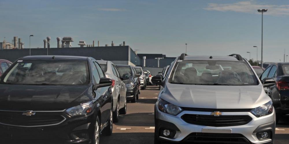 Veículos produzidos na GM de Gravataí | Foto: Alina Souza