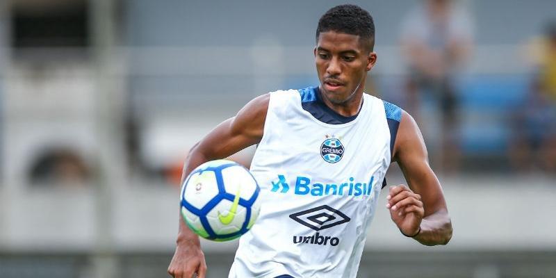 Jean Pyerre apresentou atrofia na perna direita após sofrer lesão na coxa | Foto: Lucas Uebel / Grêmio / Divulgação / CP Memória