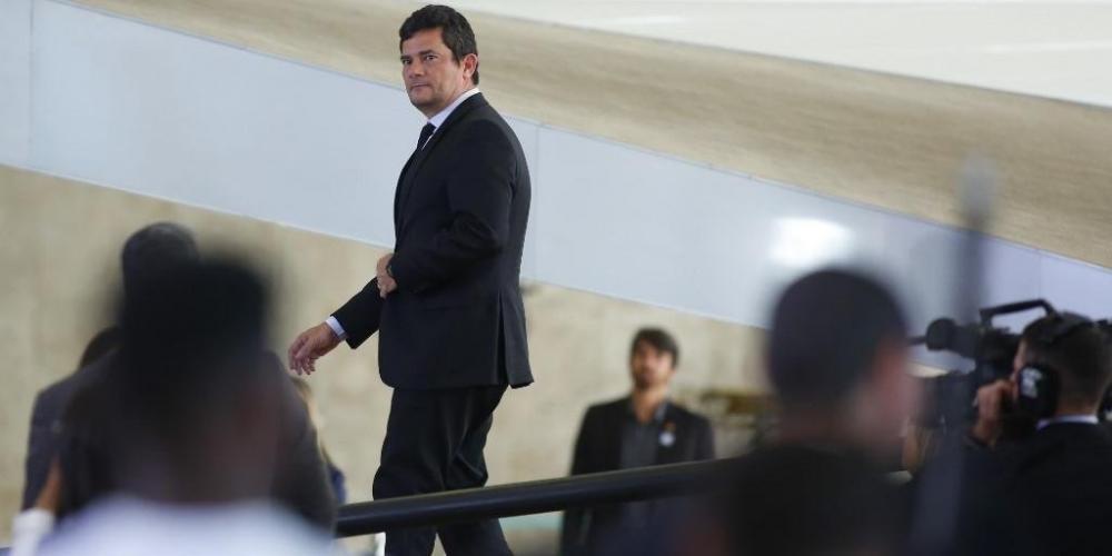 Moro negou qualquer pretensão de concorrer à presidência da República em 2022 | Foto: Sergio Lima / AFP / CP