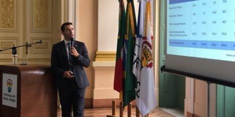 Busatto relatou que a prefeitura também enfrenta o aumento do déficit previdenciário | Foto: Guilherme Kepler / Rádio Guaíba / Especial / CP