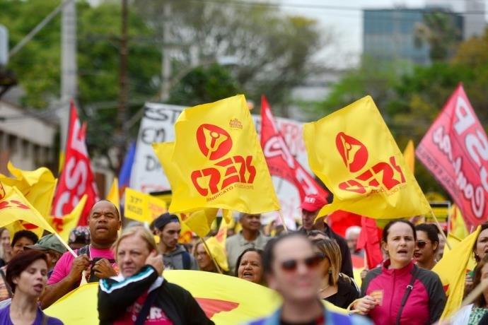 CPERS criticou desconto dos dias parados durante greve de professores   Foto: Guilherme Testa/CP Memória