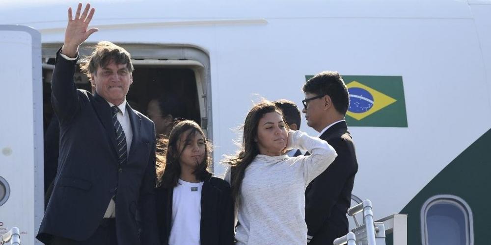 Agenda de compromissos governamentais de Bolsonaro na Índia começa no sábado | Foto: Prakash SINGH / AFP / CP