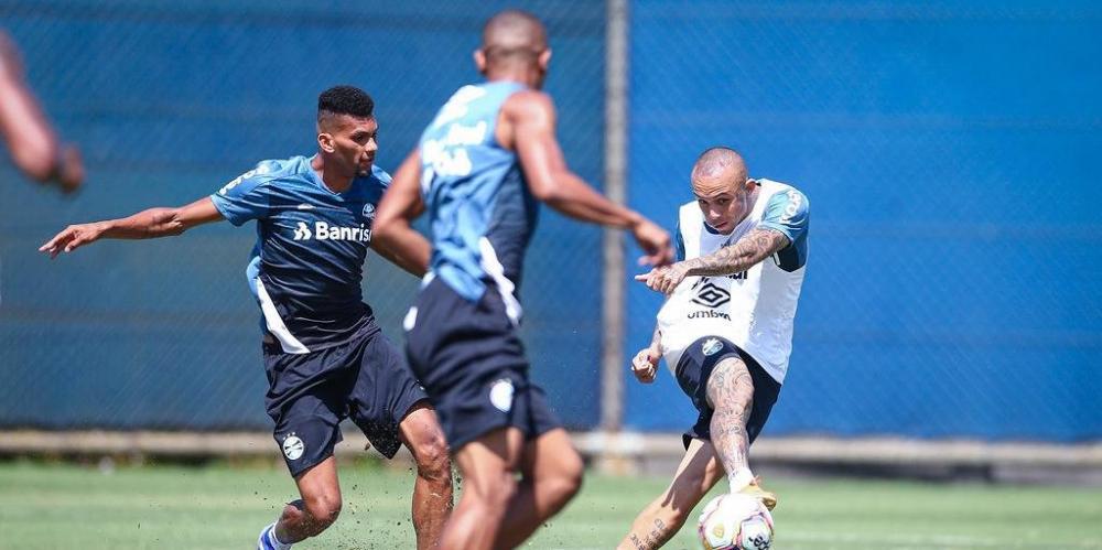 Grêmio deve entrar em campo com time misto contra o Brasil de Pelotas | Foto: Lucas Uebel / Grêmio / Divulgação / CP